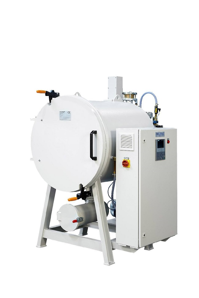Vacuum Pyrolysis ovens for small spaces/low energy consumption.
