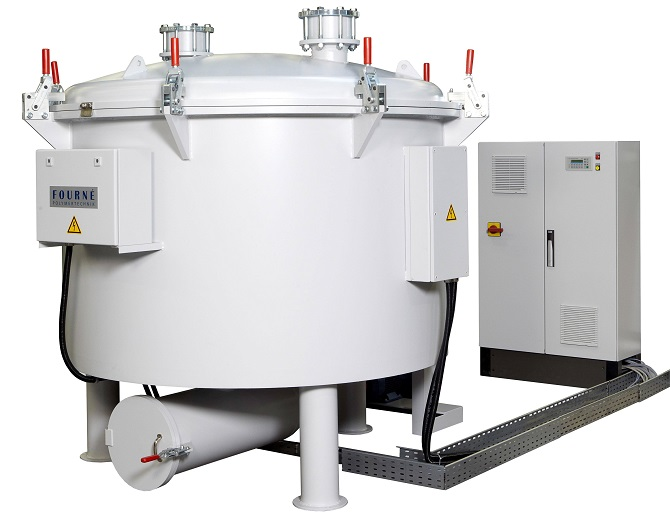 Large scale Vacuum Pyrolysis Cleaning Oven
