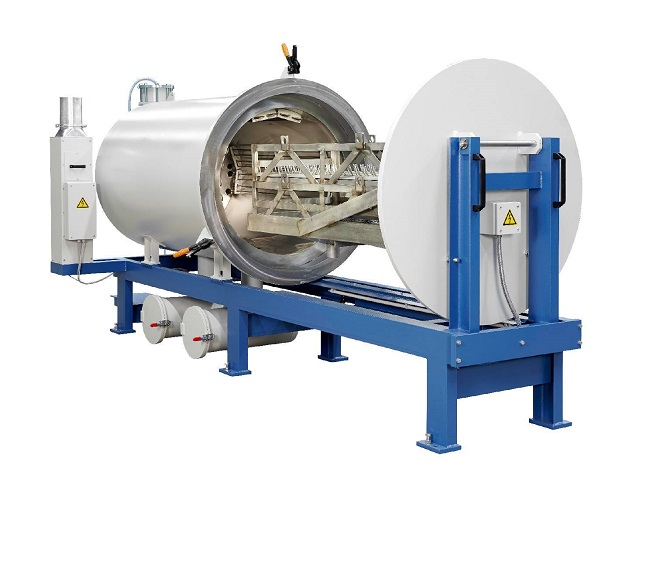 This Vacuum Pyrolysis Cleaning Oven is ideal in an Industrial Setting.